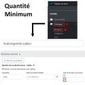 Quantité multiple en fonction de la quantité minimum - Module Prestashop