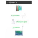 Bloc catégories personnalisable