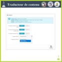Traducteur de contenu avancé - Module Prestashop
