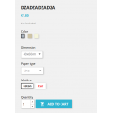 Display of combinations/attributes with stock - Addons Prestashop