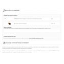 Minimum de commande pour plusieurs catégories