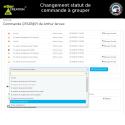 Order status change to group