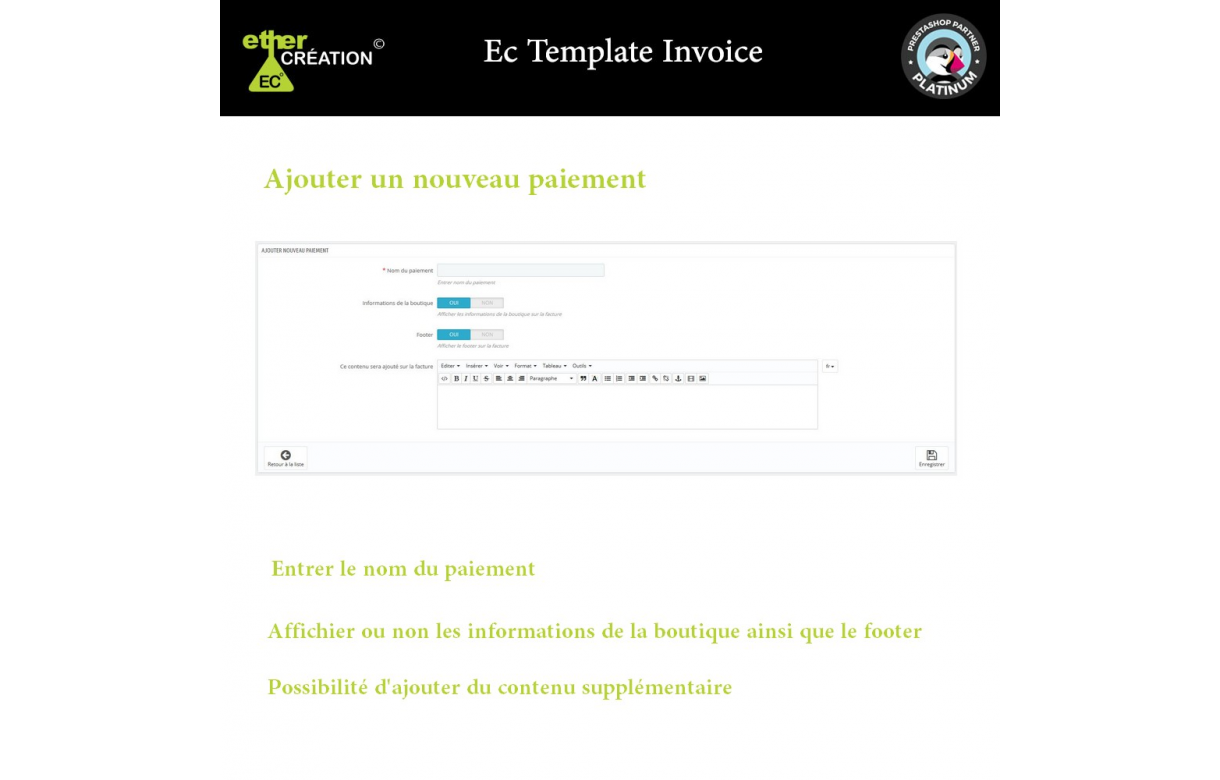 Manage invoices based on sales sources